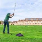 Vue du golf sur le Green des Impressionnistes