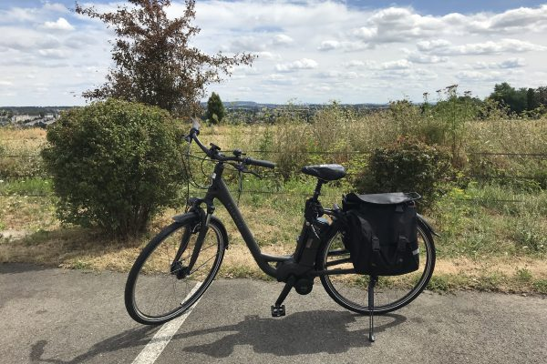 Loan of electric bicycles