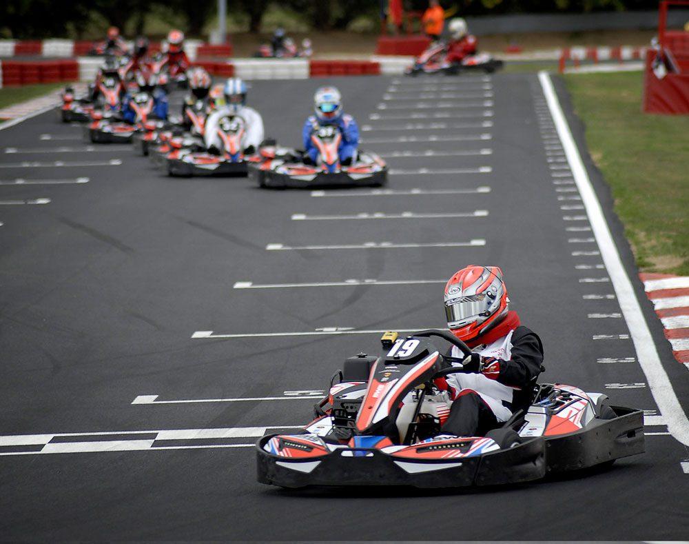Europe's largest go-kart