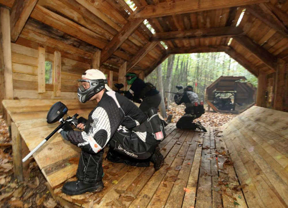 Paintball en forêt
