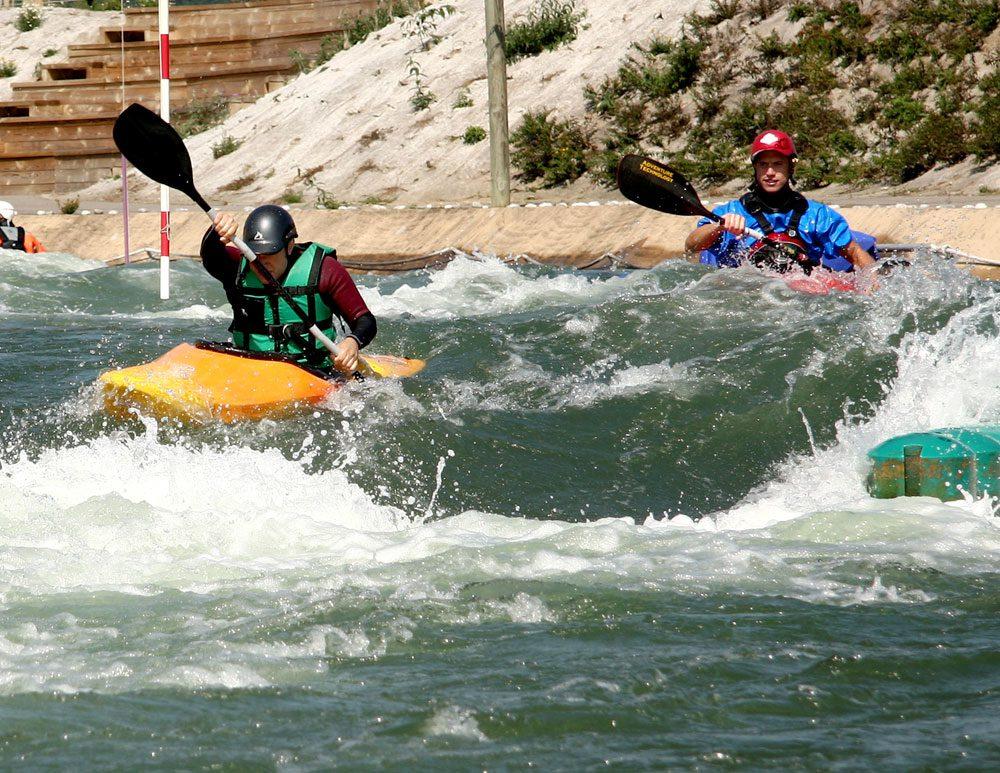 Sport d'eau et de plein air à l'Ile de Loisirs