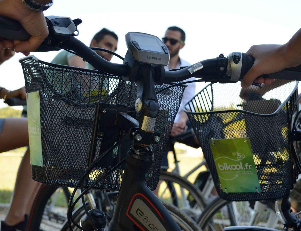 Electric bike ride