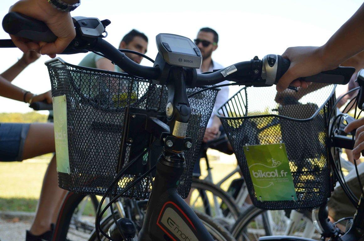Balade à vélo électrique Bikool