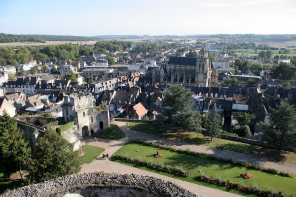 Gisors medieval town and its castle